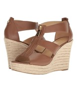 MICHAEL Michael Kors Damita Wedge Luggage Shoes Size 10 - $99.99