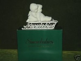 """Snowbabies - """"Two Little Babies On The Go""""  Dept 56 MIB - $24.14"""