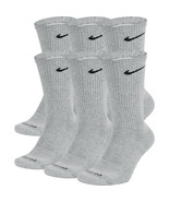 NEW Nike Everyday Plus Cotton Cushioned Crew Socks 6x LARGE  SX6897-063 ... - $22.00