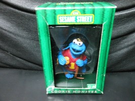 "Kurt Adler / Gibson ""Cookie Monster Hockey- Sesame Street"" 1998 Ornament... - $6.34"