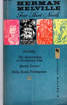 H. Melville 4 Short Novels-Bartleby, Enchanted Isles, Benito Cerceno, Bi... - $2.95