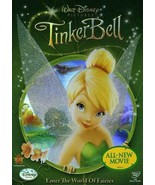 Walt Disney Tinkerbell Enter The World Of Fairies All New Movie Kid DVD ... - $9.89
