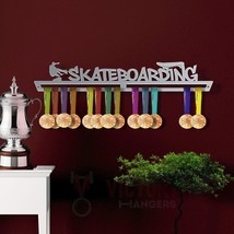 Skateboarding Medal Hanger Display - $45.69