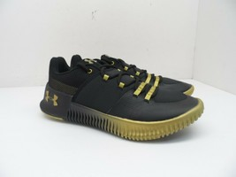 Under Armour Women's Ultimate Speed Running Shoes Black/Gold Size 8M - $85.49
