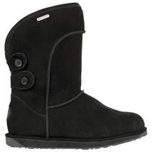 Women's Emu Australia Charlotte Boot Black Size 9 #RJ477-954 - $112.49