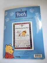 Pooh Counted Cross Stitch KIT- Blustery Day Sampler New - $23.99
