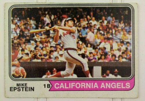 Topps Baseball Card Mike Epstein California Angels Card #650 1970's Vintage - $30.00