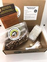 2funguys Shiitake Plug Spawn Starter Kit - Grown Your Own Mushrooms - $23.75