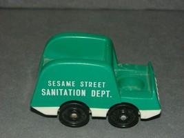 Fisher Price Little People: Sesame Street Sanitation Garbage Truck - $9.00
