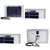 Mighty Max Battery 10 Watt Polycrystalline Solar Panel Charger For Deep ... - $47.50