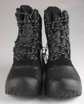 Goodfellow & Co Case Men's Black Leather Textile Faux Fur Chucka Winter Boots image 2