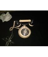 Vintage Western Electric Beige Rotary Desk Phone - $39.97