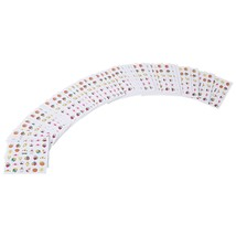 50pcs Emulational Nail Art Decal Sets Ultrathin Nail(#1) - $11.93