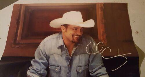 "Chris Cagle autographed poster 18"" x 18"""