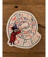 SUPREME NYC Sticker Box Logo Twirl Roberts - $17.57