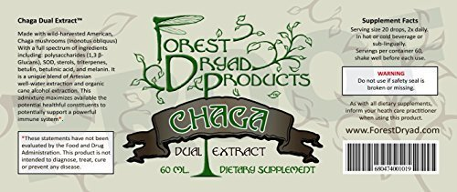 Forest Dryad American Chaga Dual Extract