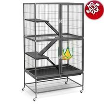 Large Ferret Cage Chinchilla Rabbit Hamster Guinea Pig Rat House Metal H... - $176.95