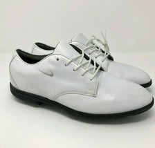 Nike Air Vintage Formal Oxford Golf Shoes White Black Mens Size 9.5 - $59.95
