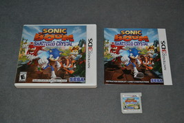Nintendo 3DS: Sonic Boom Shattered Crystal [COMPLETE] - $16.00