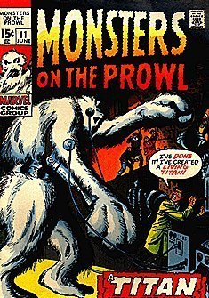 Monsters on the Prowl (1971 series) #11 [Comic] [Jan 01, 1971] Marvel