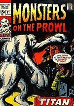 Monsters on the Prowl (1971 series) #11 [Comic] [Jan 01, 1971] Marvel - $5.95