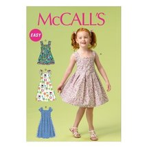 McCall Pattern Company M6878 Children's/Girls' Dresses Sewing Template, Size CDD - $14.21