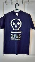 Graveface Records Black logo t-shirt Adult size Medium - $4.99
