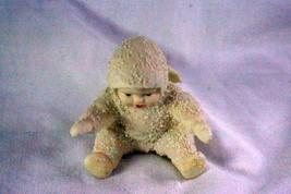 Dept 56 Snowbabies Tumbling In The Snow Sitting Upright Figurine - $4.15