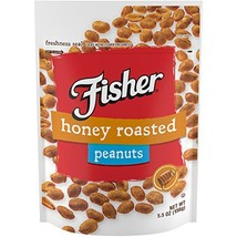 FISHER Snack, Honey Roasted Peanuts, 0g trans fat, 5.5 oz Pack of 6 - $14.89