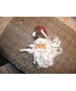 20#36    Cute Santa Claus Plastic Tree Decoration.   Santa.....So Cute! - $4.94