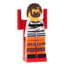 Hannibal Lecter Serial Killer Horror Movie Lego Minifigures Block Toy Gift  - $1.99