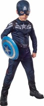 Captain America Stealth Marvel Superhero Fancy Dress Halloween Child Costume - $32.45