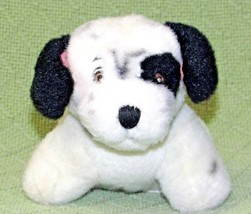 "Vintage 101 Dalmatians Puppy LUCKY with PATCH Dog Blue Collar Name 6"" PL... - $18.70"