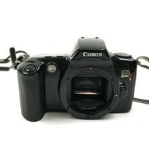 Canon EOS Rebel x 35mm Pellicola Fotocamera Nero Corpo Flash Fotografia Pic - $18.69