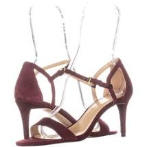 Michael Michael Kors Simone Mid Sandal Ankle Strap Sandals 600, Ox Blood... - $67.94