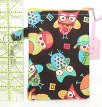 Clip-On Cell Phone Case - Small - Wise Owls Wearing Eyeglasses - COPC - $4.00