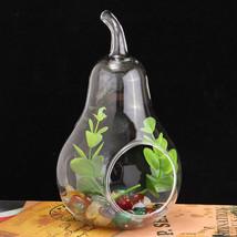 Crystal Glass Flower Vase Terrarium Container Hydroponic Wedding Vases D... - $8.08