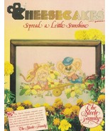 Cheesecakes Spread a Little Sunshine #103 Cross Stitch Steele Family Des... - $5.93