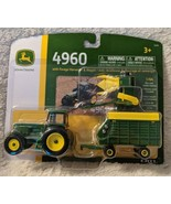 John Deere LP67313 ERTL 4960 Forage Harvester And Wagon Tractor Collecti... - $21.99