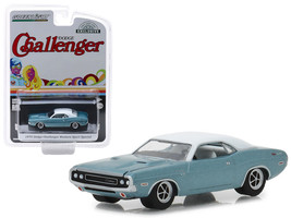 """1970 Dodge Challenger Blue with White Top \""""Western Sport Special\"""" Hobb... - $13.18"""
