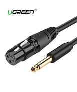 UGREEN® 6.35mm/6.5mm Jack To XLR Cable Male To Female Professional Audio - $9.76+