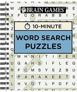Brain Games - 10 Minute: Word Search Puzzles [Spiral-bound] Publications... - $10.84