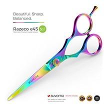 Suvorna Razeco E45 5.5 Inch Professional Barber Multicolor Titanium Razo... - $53.97