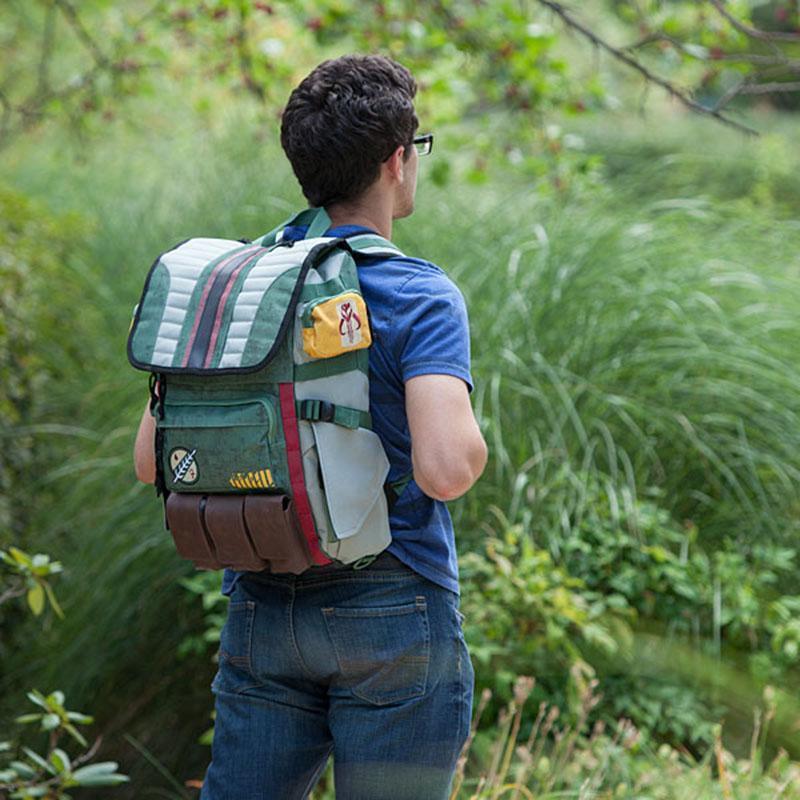 Travel Backpacks Star Wars Boba Fett Laptop Backpack great quality