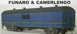 Funaro & Camerlengo HO B&O C-15 50' Baggage original door ONE PIECE BODY Kit 825 image 2