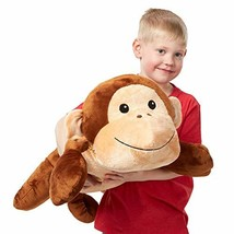 Melissa & Doug Cuddle Monkey Jumbo Plush Stuffed Animal (Reusable Activity - $28.00