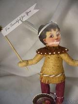 Spun Cotton Thanksgiving Native Boy Vintage by Crystal Brown Pants image 3
