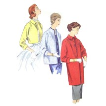 1950s Vintage Simplicity Sewing Pattern 1451 Misses Jacket Coat Topper 1... - $9.95