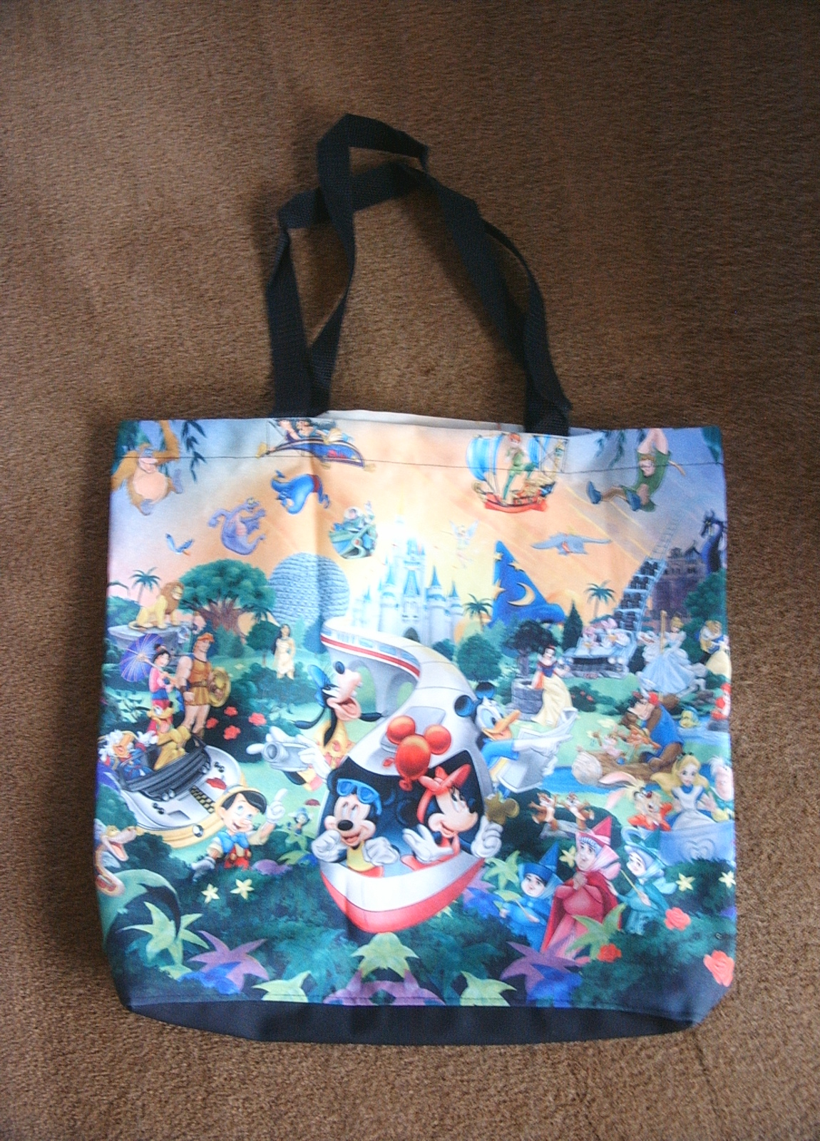 Mickey Mouse New New Disney 30th Anniversary Tote Bag Mickey From Japan
