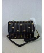 NWT Tory Burch Black Fleming Star-Stud Small Convertible Bag $558 - $512.82
